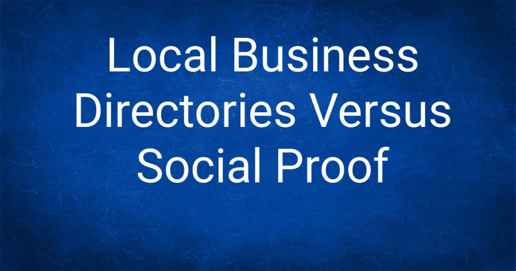 Local Business Directories